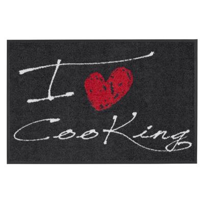 Tapis paillasson I love cooking