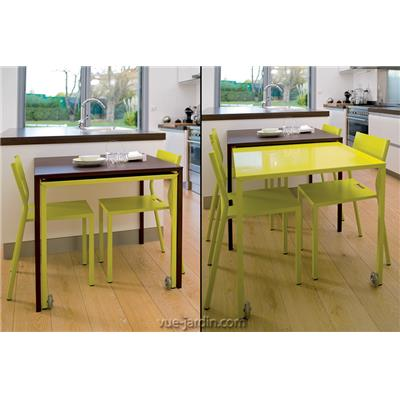 Table coulissante Rafale